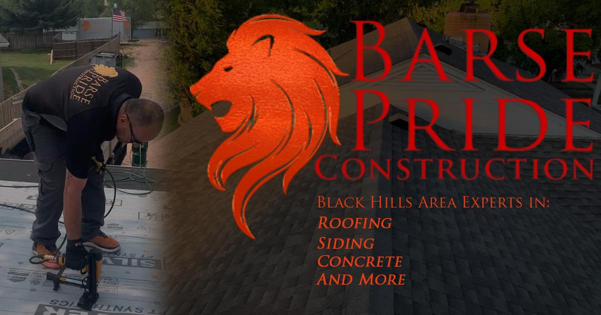 Barse Pride Construction is a GAF Certified Roofing Company in Rapid City SD
